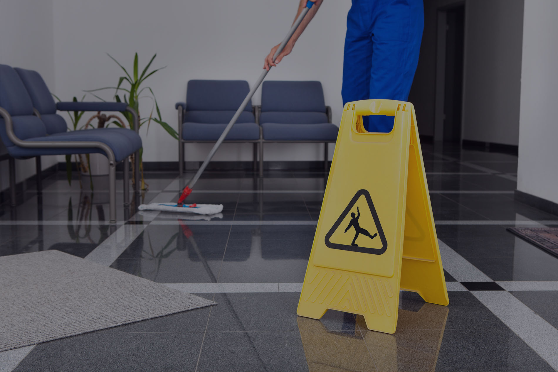 Business premises cleaning